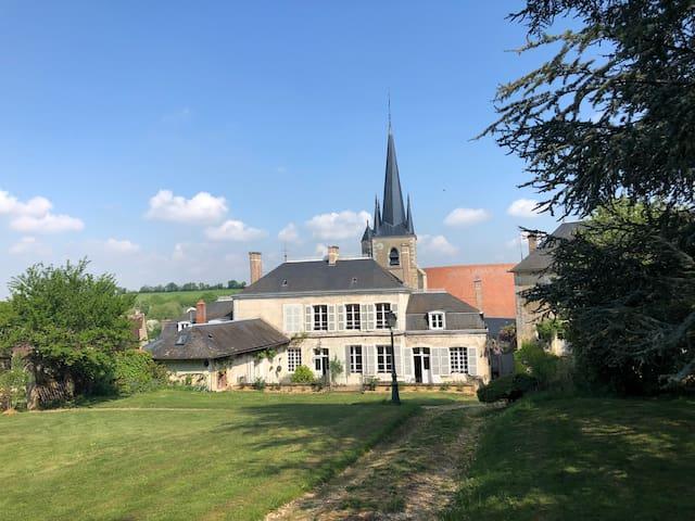 Demeure de charme, Bourgogne, 19 pers, piscine
