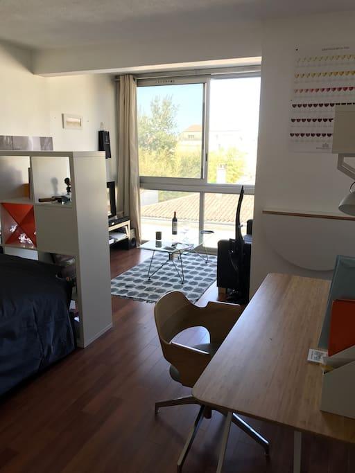 Studio au coeur de bordeaux appartements louer for Bordeaux studio a louer
