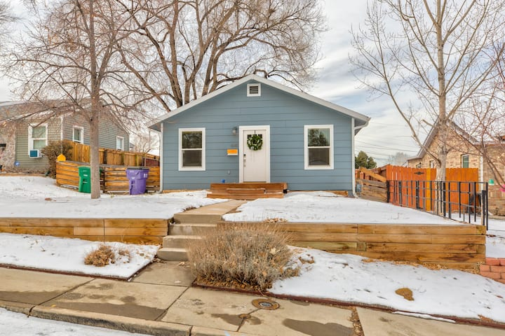 Entire cozy house with yard & garage near Downtown