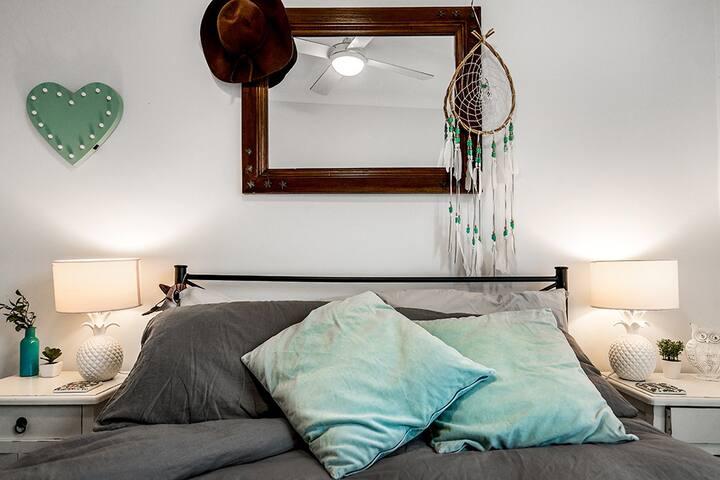 Byron Boho Guest Room
