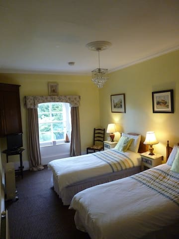 Twin (with breakfast)Or Room Only. Hillowton House - Castle Douglas - Bed & Breakfast