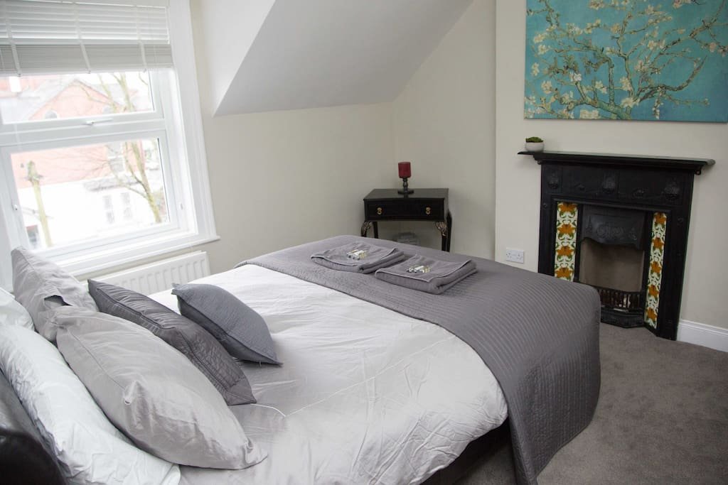 Master bedroom on 3rd floor