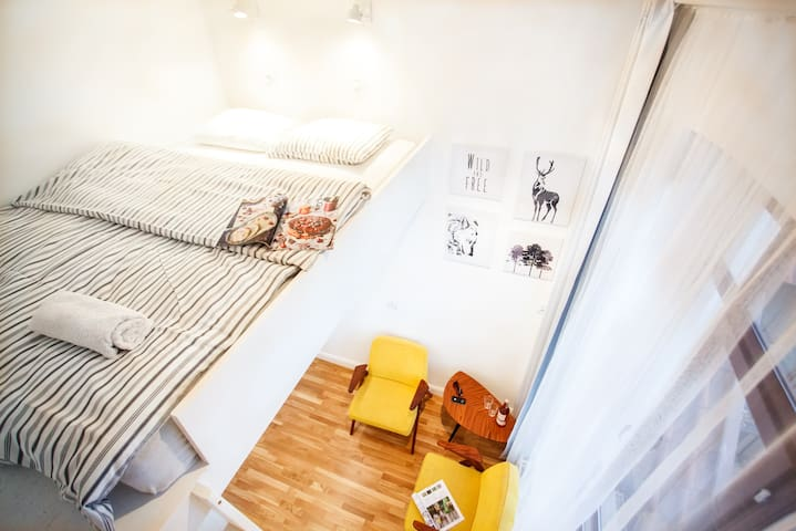 The Little Tower Studio. Central Sopot - Sopot - Apartamento