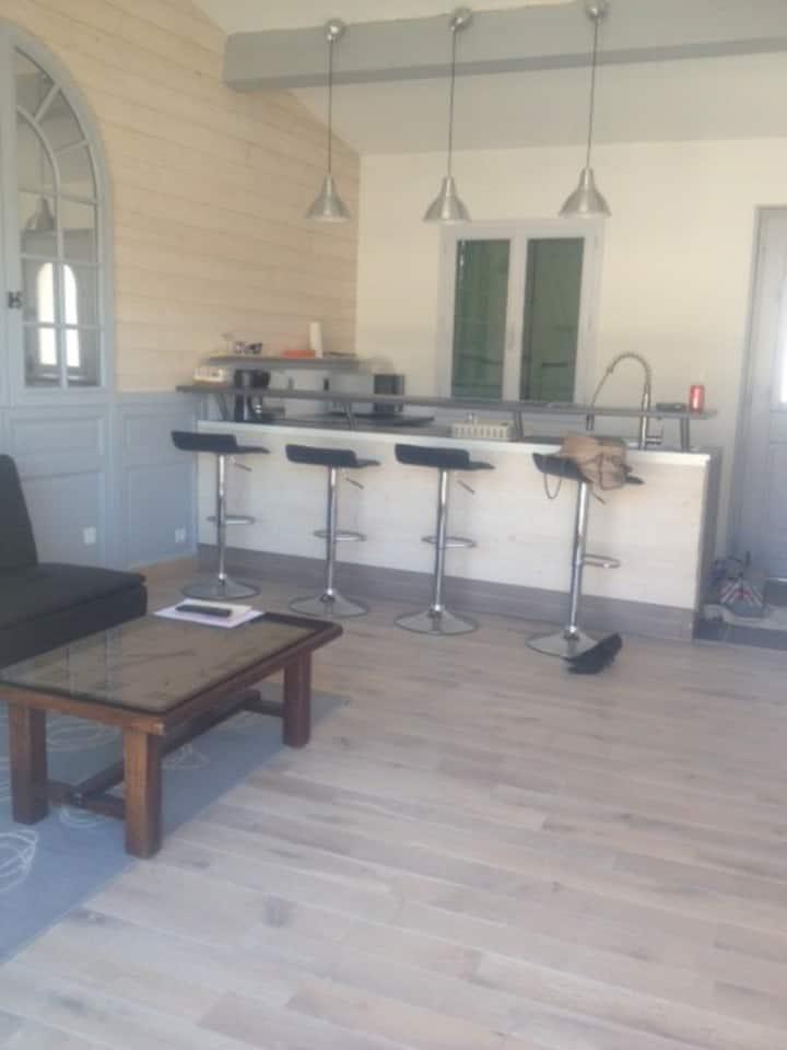 appartement tout confort terrasse  plein sud
