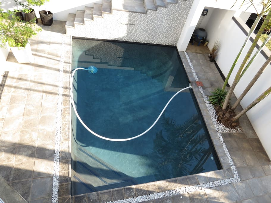 Heated Swimming pool (on request)