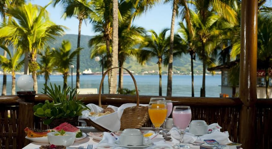 Flat hotel 4 estrelas em frente ao mar - Ilhabela - Apartment