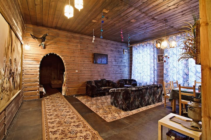 "Гостевой Дом ""Ни-Ки-Та""  в лесу и с зубрами - Spassky District - Natur lodge"