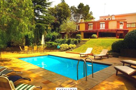 Airesol D villa 25km to Bcn - Huis