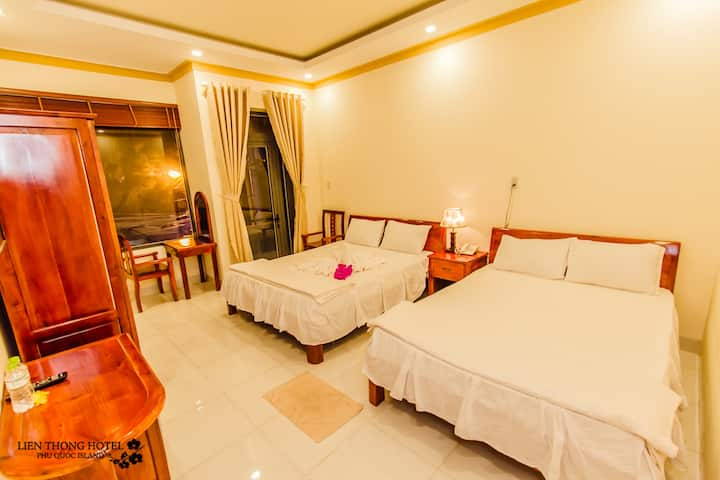 LIENTHONG HOTEL (SUITE JUNIOR 4PAX/ROOM 2BED)