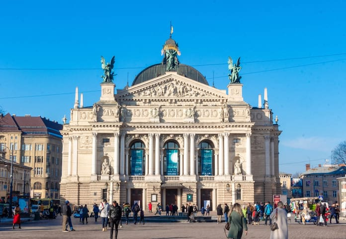 The Opera an architectural jewel of L'viv