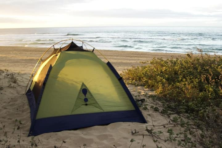 Private Campsite with camping gear included permit