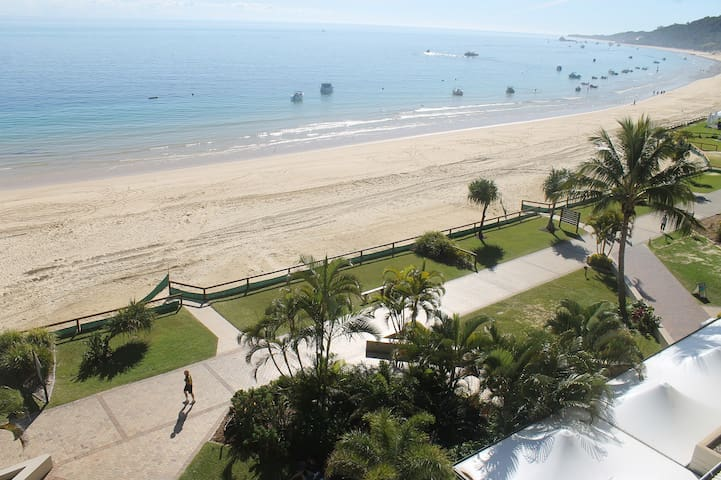 Absolutely Beachfront Luxury apartment  Tangalooma - Tangalooma - Appartement
