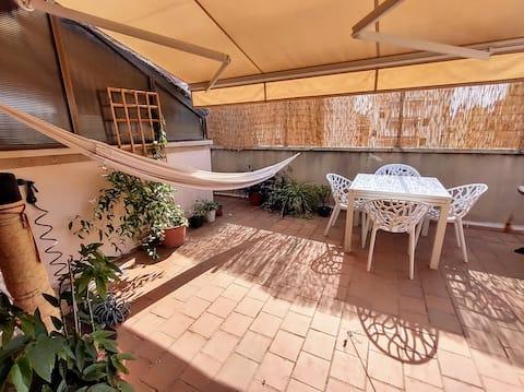 Precioso apartamento con terraza en el centro de Palma