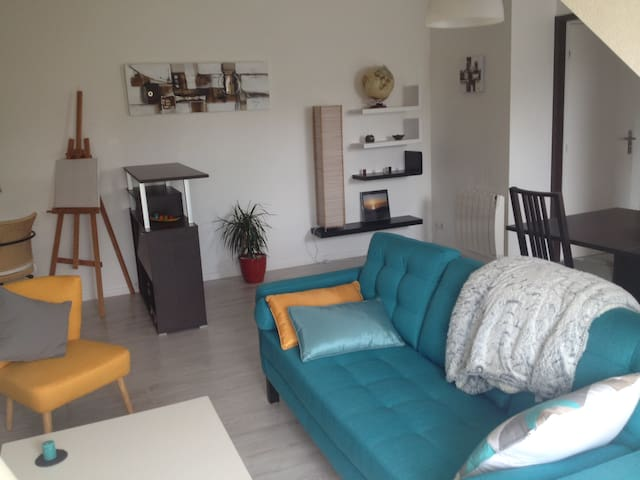Charmant appartement, proche de Rennes - Betton - Apartament