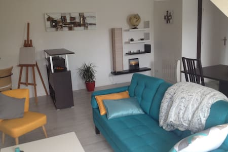 Charmant appartement, proche de Rennes - Betton - Lakás