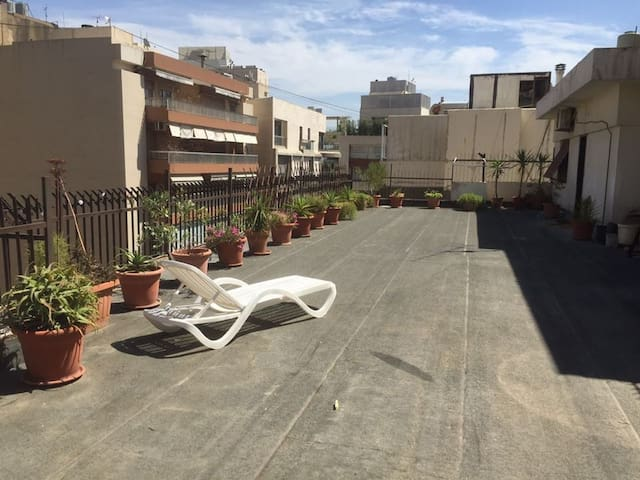 Private Furnished room&Huge Terrace in Beirut