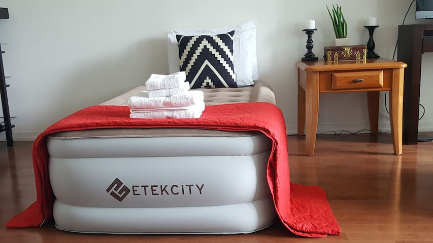 Extra Double Etekcity Airbed upon request!