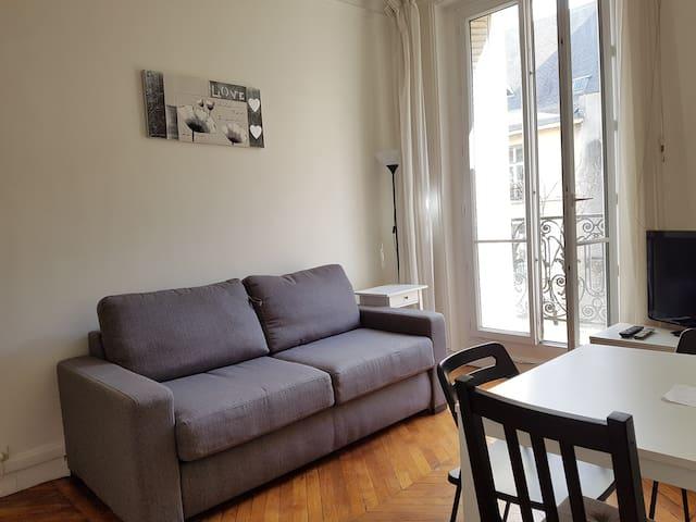 Cozy parisian flat in the heart of Le Marais!