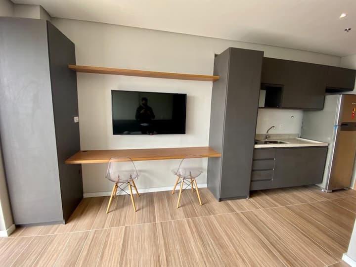 Lindo loft/Studio em condomínio de alto padrão