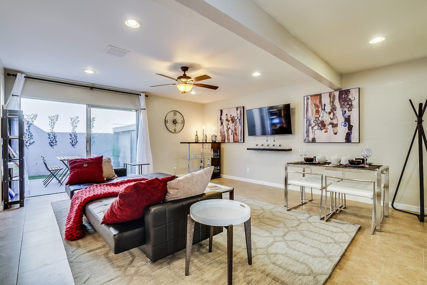 Interior decorated Inspired family room