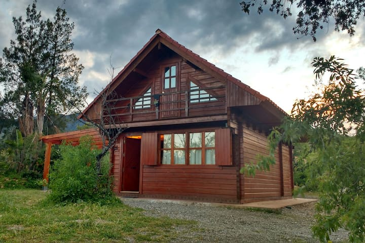 Cabin Log  Caminito del Rey