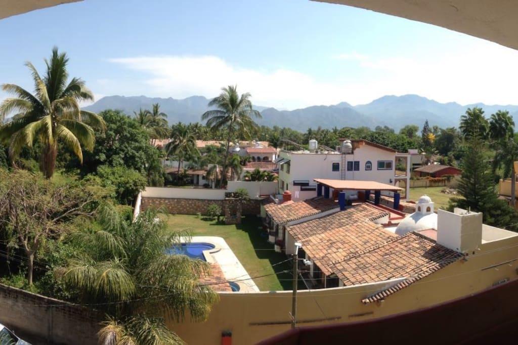 Vista terrazas recamaras