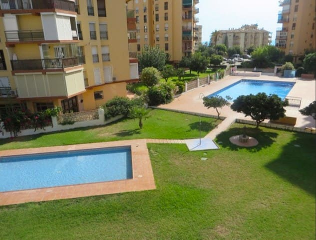 ☀ Apt. in front of the beach. Pool/Garden/Parking