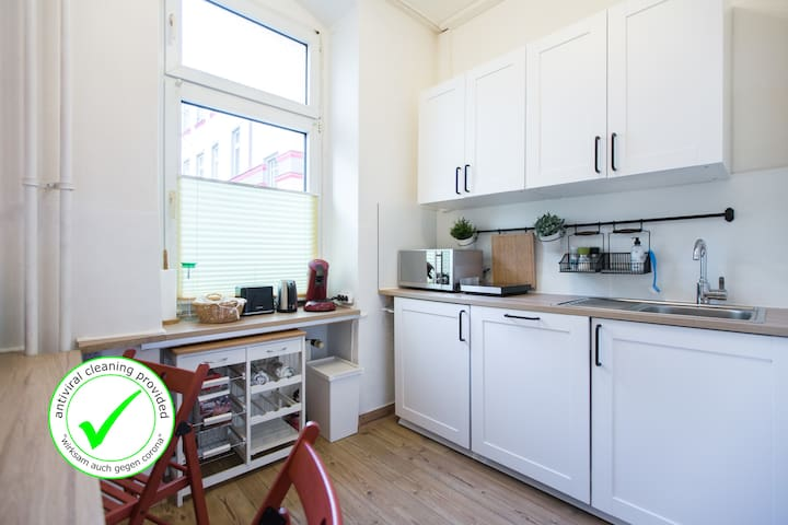MITTE 2BR 2BTH +Self Check-in +free Street Parking