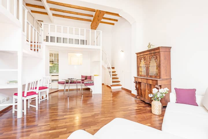 In the Middle of Everything- Spanish Steps Loft