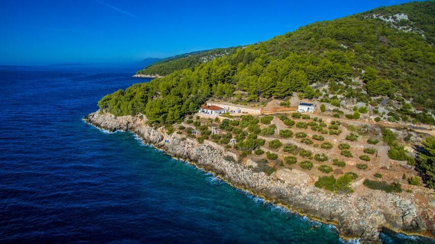 Seafront Villa Hvar, Croatia   Rent villa hvar