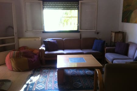 Beautiful House in the Village Near Gorgeous Beach - Havatselet HaSharon - Huis