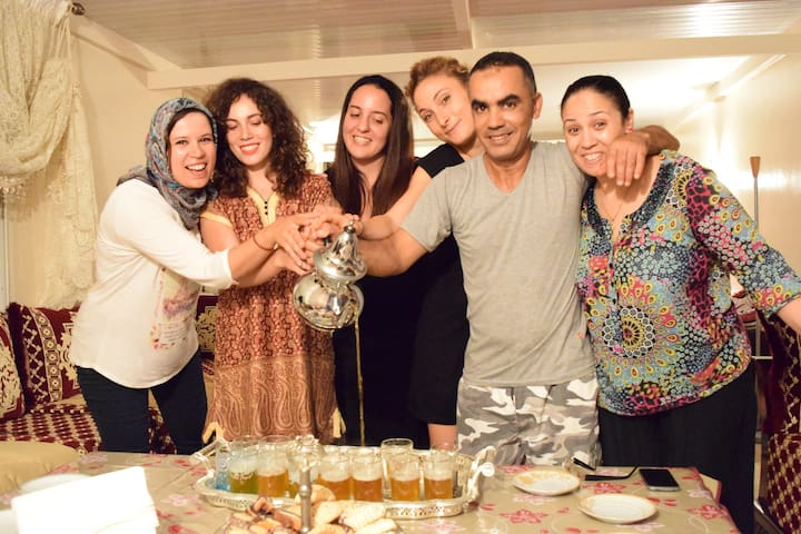 Host family in Rabat / more than 5 nights