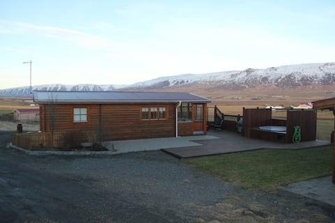 Cozy get away on a farm bigger cabin