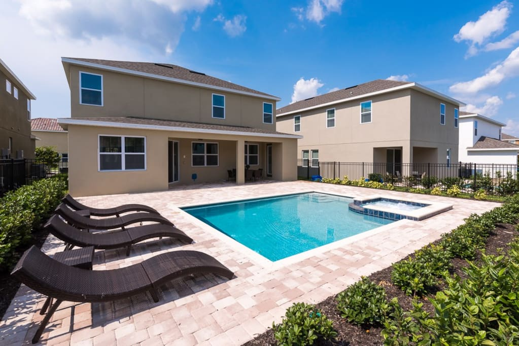 Ec122 6 Bedroom Luxury Pool Home At Encore Houses For Rent In Kissimmee Florida United States