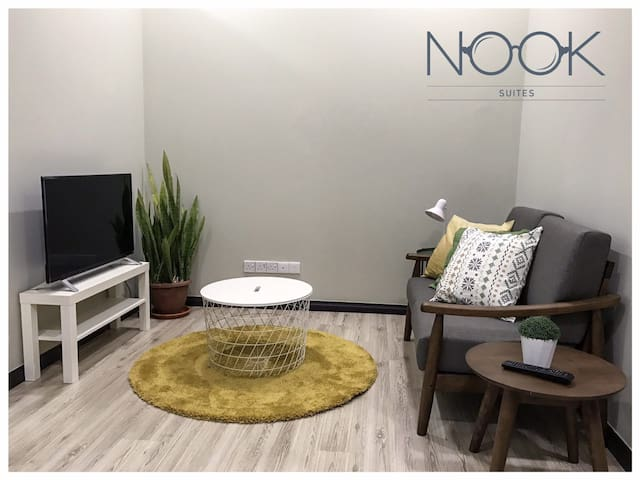 CENTRAL KK 2BR shophouse - Nook Suite 2