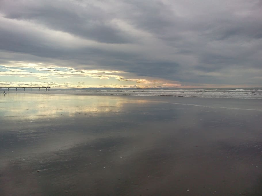 Beach not far away