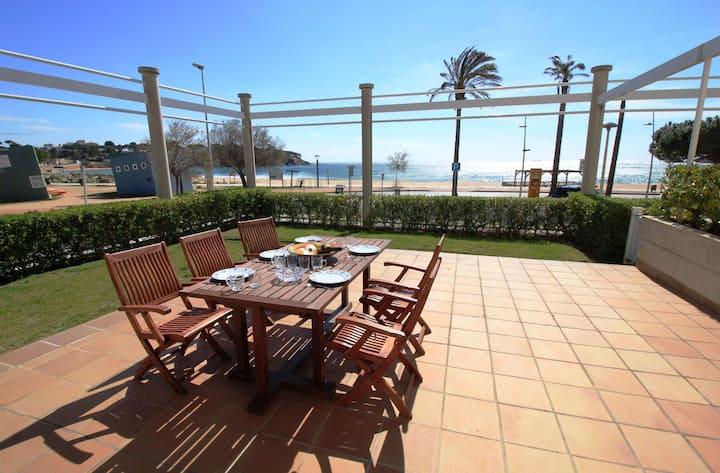 Apartamento en primera linea en la playa Sant Pol