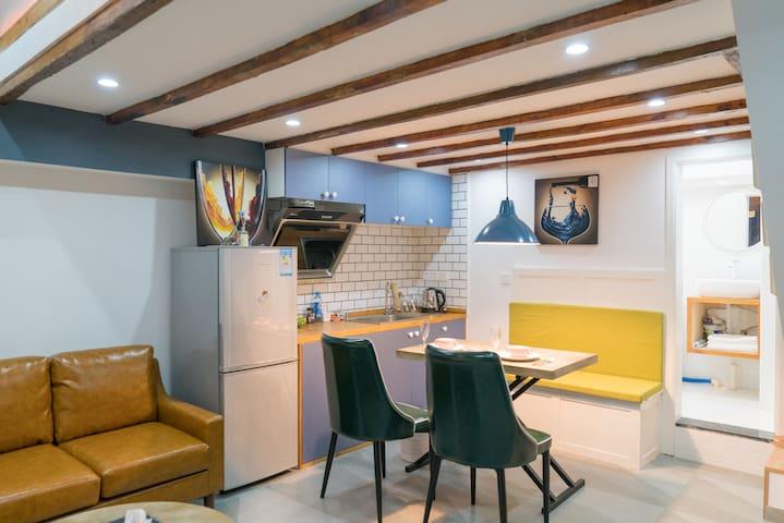 中华第一街南京东路!超繁华地段near the bund!二房整套公寓 - 上海 - Lägenhet