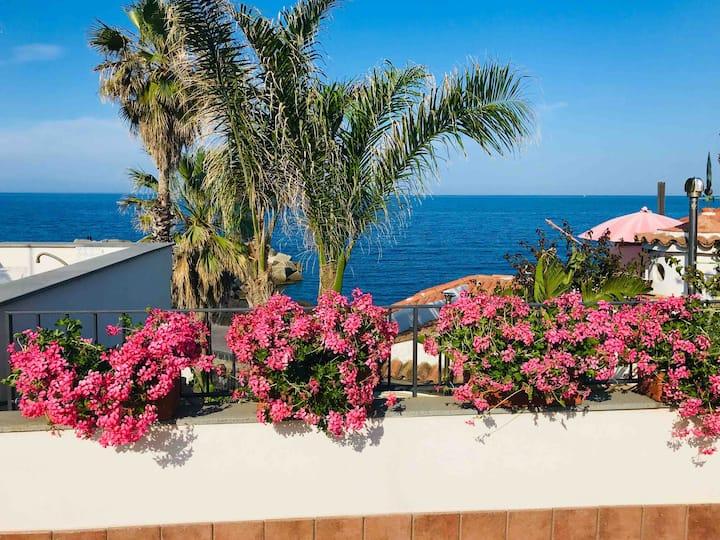 Blue54 - Pozzillo sea between Etna and Taormina