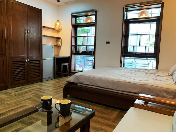 Studio in Ba Dinh Furnished Asian style near Lotte