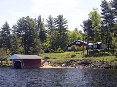 Adirondack Camp at the Lake - Tupper Lake - Ferienunterkunft