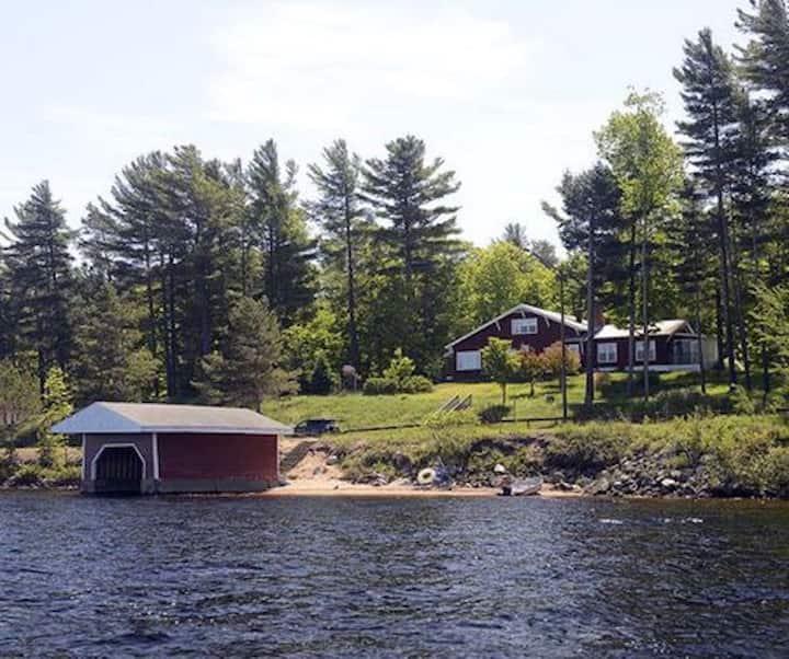 Adirondack Lodge at the Lake