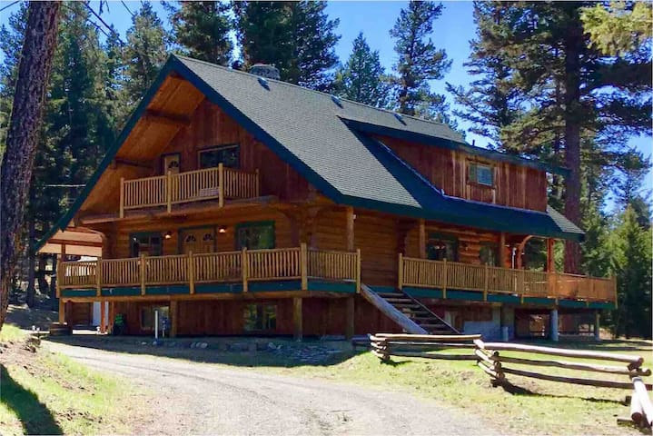 100 Mile House Log Home perfect for family retreat