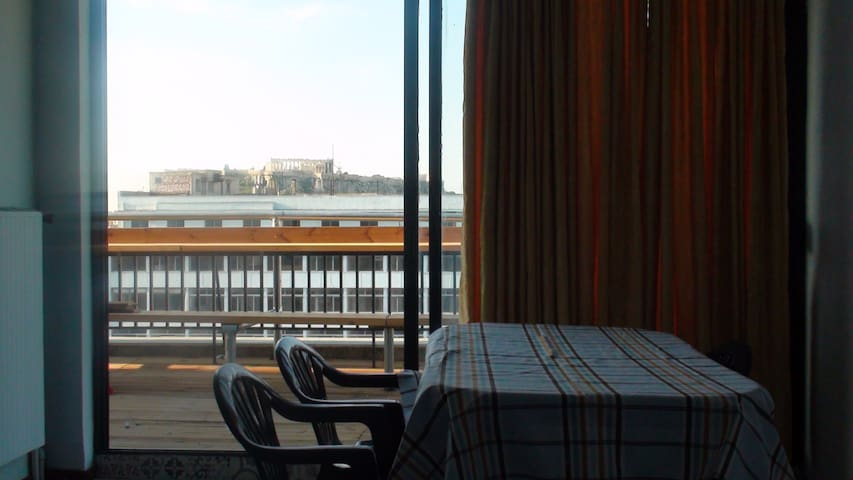 1^ Room with balcony & Acropolis view - Athina - Apartment