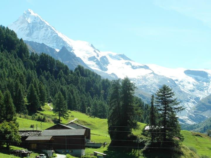 """La Forclaz, """"Der Berg ruft! """""""