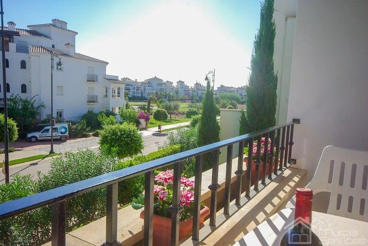 2 Bedroom apartment on La Torre Golf Resort - MURCIA VACATIONS PZ1611
