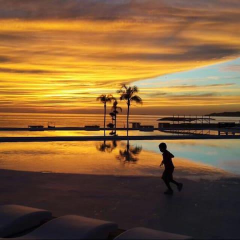 Nuevo Vallarta Beach Front Views