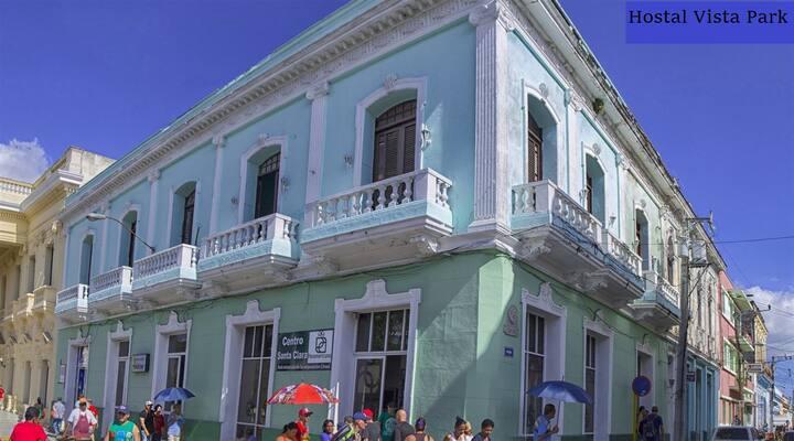 Room 1 best location of all Santa Clara hostels