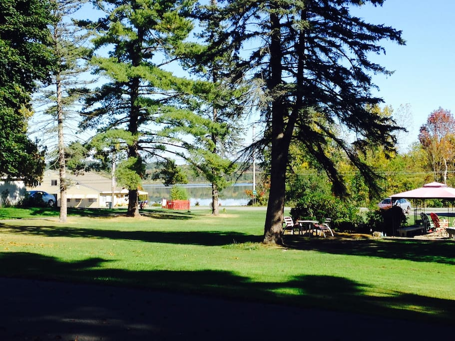 View of Lake from Property