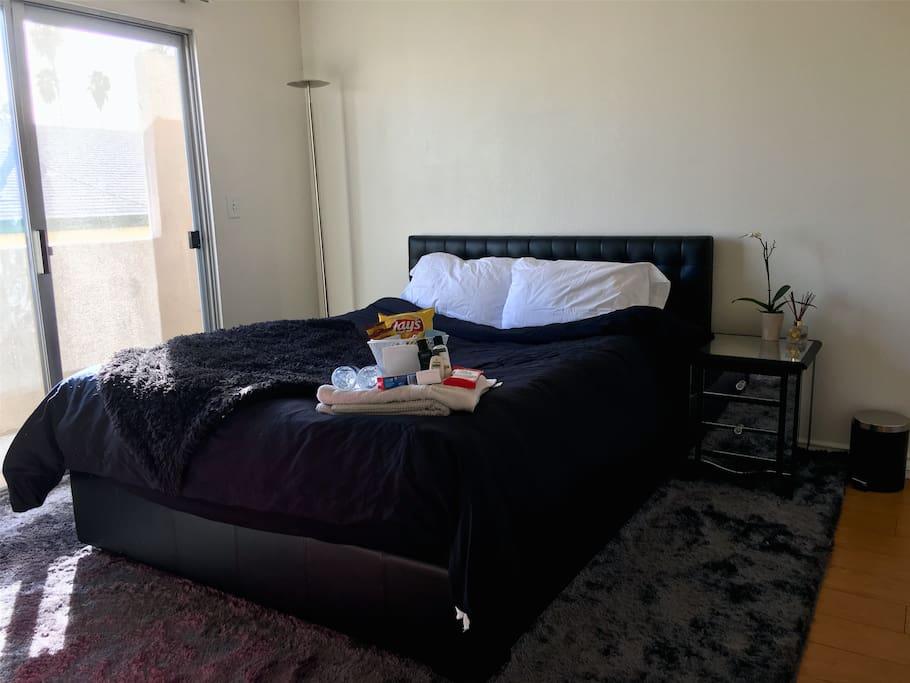 Super comfy bed!